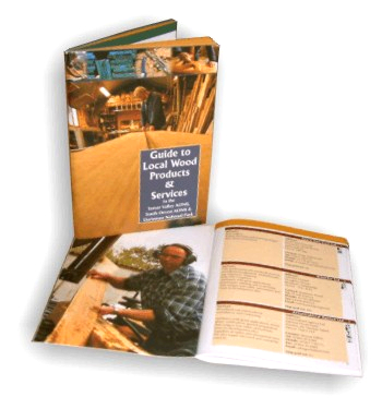 """Guide to Local Wood Panels and Services"" booklet"