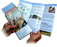 Leaflets and Brochures - designed and printed by Graphic Words
