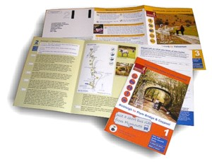 Short Walks from the West Devon Way - leaflets updated and printed by Graphic Words